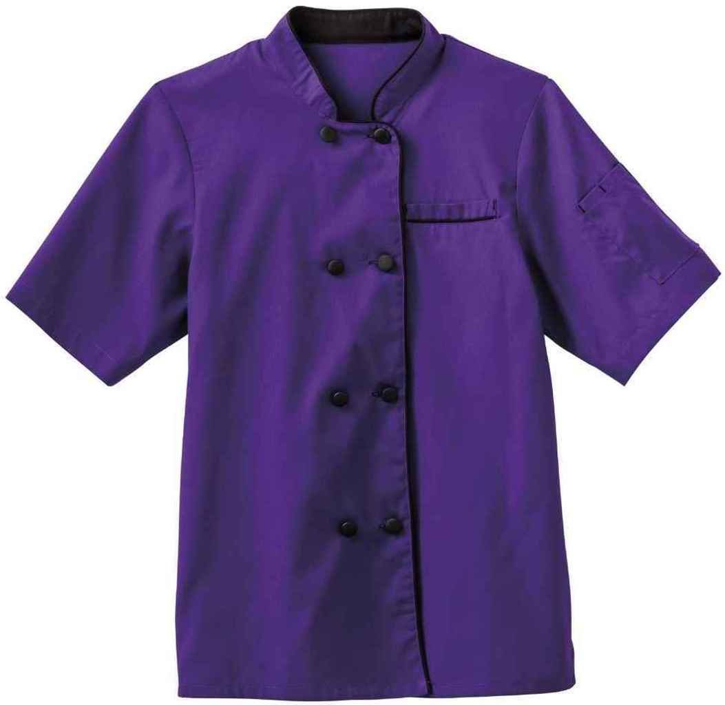 Five Star 18028 Ladies Short Sleeve Executive Coat (Purple, Small) by Five Star