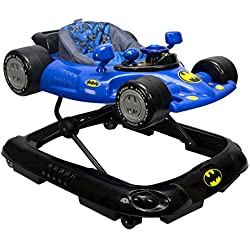 KidsEmbrace Batman Batmobile Baby Activity Walker with Music and Lights, DC Comics, Blue