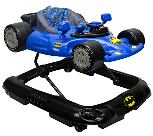 KidsEmbrace Batman Batmobile Baby Activity Walker with Music and Lights, DC Comics, Blue by KidsEmbrace