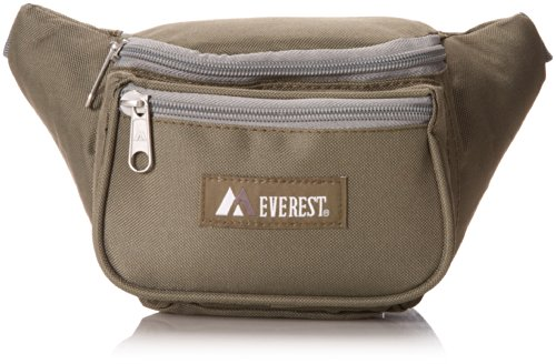 Everest Signature Waist Pack - Standard, Olive, One (Pack Olive)
