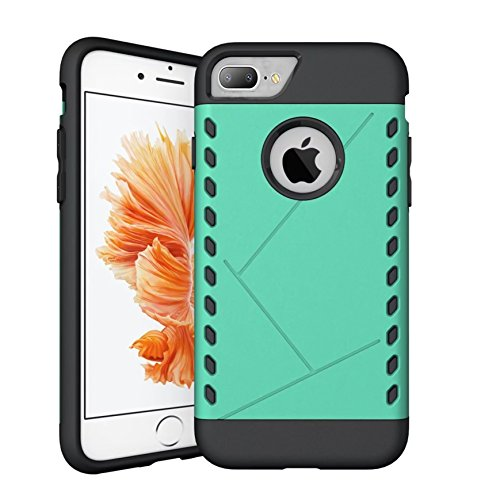 CaseHQ iPhone 7 Plus Case,iPhone 8 Plus Case,PC+Rubber Slim fit Heavy Duty Protection Style Protective Shockproof Cover Bumper Case for Apple iPhone 7 Plus/iPhone 8 Plus (5.5 inch - Sunglasses For Light Sensitivity Extreme