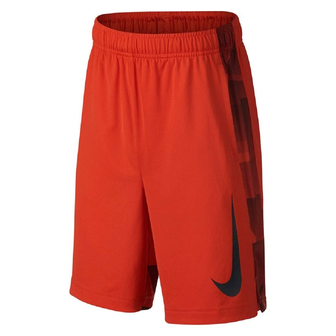 Nike Boys 8-20 Dri-FIT GFX Legacy Shorts (Habanero Red, Small)