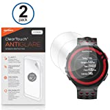 BoxWave Garmin Forerunner 220 Screen Protector, BoxWave [ClearTouch Anti-Glare (2-Pack)] HD Film Screen Guard for Forerunner 220 and 620