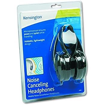 Kensington K33084 Noise Canceling Headphone, Black