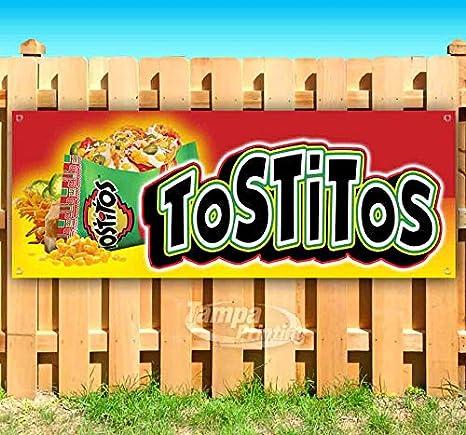 Amazon.com: TOSTITOS - Cartel de vinilo resistente con ...