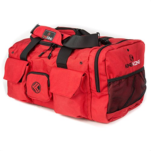 King Kong Original 1000D nylon gym bag, red