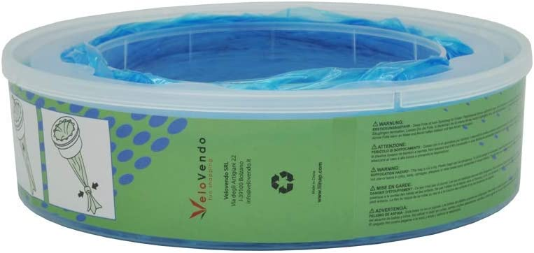 LILNAP Recambios para el contenedor de pa/ñales Angelcare recarga multicapa con tratamiento EVOH antibacteriano 6 recargas