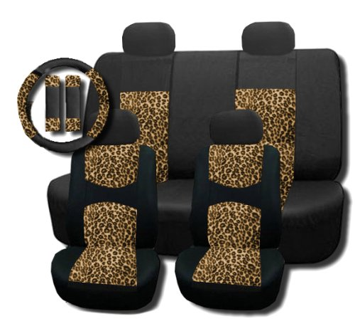 zebra car seat covers honda civic - 5