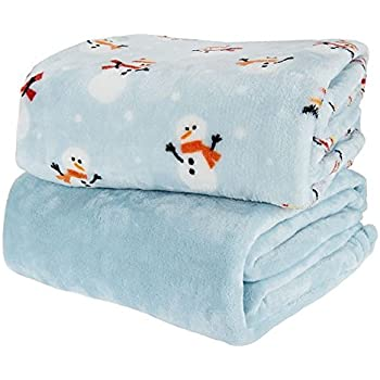 Amazon.com: Berkshire Blanket Opulence Holiday Throw, (Holly ...