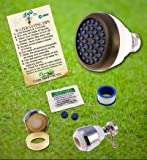 Super Saver Special Low Flow Shower Head | Kitchen & Bathroom Aerators & Toilet Leak Detecting Dye Tablet Low Flow Kit