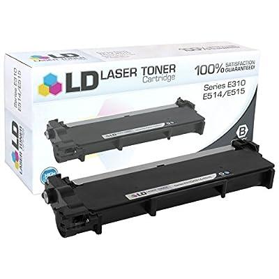 LD © Compatible Dell 593-BBKD / P7RMX Black Laser Toner Cartridge for Dell E310dw, E514dw, E515dn, E515dw