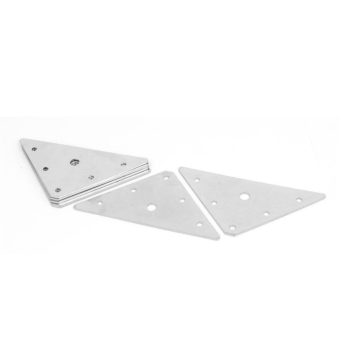 Triangle Plat r/éparation connecteur Rejoignant plaques Supports 80/mm x 80/mm 15/pcs