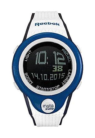 ca8d11675690 Amazon.com  Reebok Pump InstaPump Digital Men s Chrono Watch Blue ...
