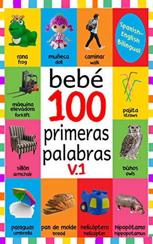 Bebé 100 primeras palabras V.1: FLASH CARDS IN KINDLE ...