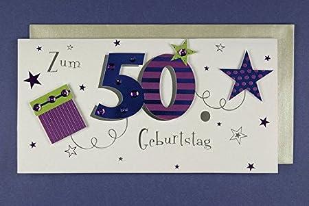 Tarjeta de felicitación 50 cumpleaños Aplicaciones avanmore ...