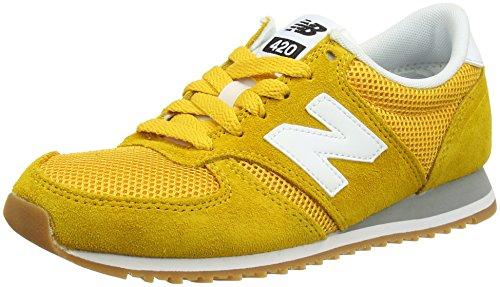 Beste Angebote New Balance U420 YWG D Sneaker low gelb Damen