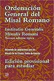 Ordenación General del Misal Romano, Liturgy Training Publications, 1568545126