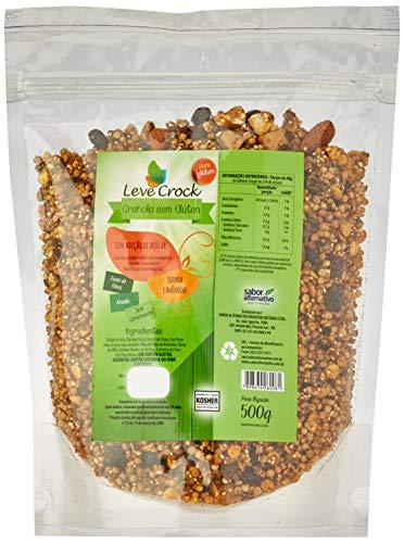 Granola sem Gluten sem Adição Açúcar Quinoa e Amêndoas Leve Crock 500g