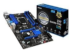 Msi Atx Ddr3 2600 Lga 1150 Motherboards Z97 Guard-pro