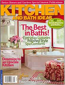 kitchen and bath ideas magazine better homes and gardens kitchen and bath ideas bhg 24550