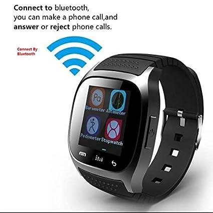 GPS Sport Fitness Smartwatch, actividad Tracker, contador de calorías, llamada SMS WhatsApp reloj