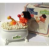 Sesame Street Ernie Rubber Duckie Bathtub Am Portable Radio Works Dated 1976