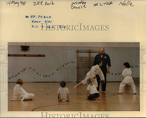 Vintage Photos Historic Images 1998 Press Photo Karate Instruction Kids - orb20162-8 x 10 in