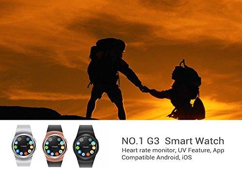Nº 1 G3 inteligente reloj - Monitor de frecuencia cardiaca ...