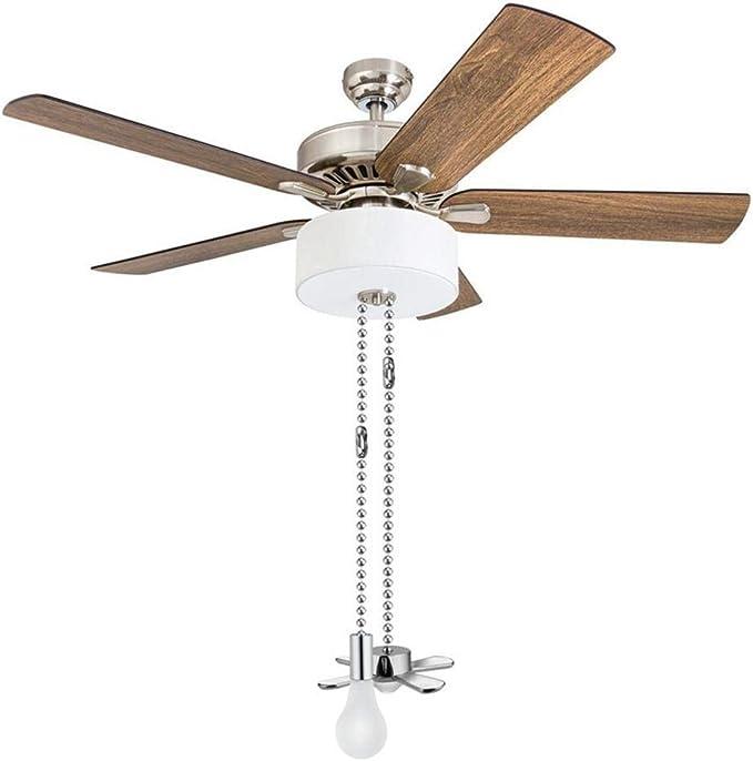 Lesgos cadena de tracción para ventilador de techo, 2 unidades de ...
