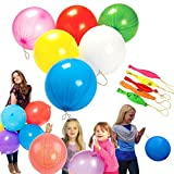 Punch Balloons - Mega Pack of 50 Balloons - 10 Inch Balloons Blows Up To 10 Inches