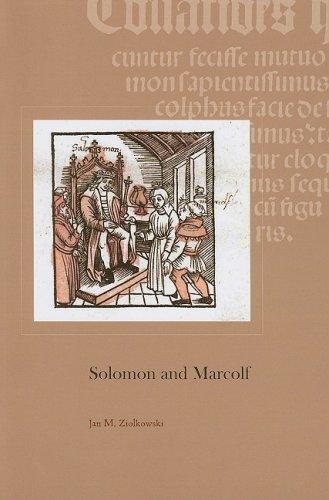 Solomon and Marcolf (Harvard Studies in Medieval Latin) ebook