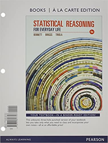 Amazon.com: Statistical Reasoning for Everyday Life, A la Carte ...