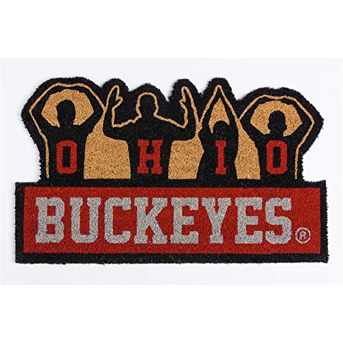 - Team Sports America NCAA Ohio State University Buckeyes O-H-I-O Coir Mat