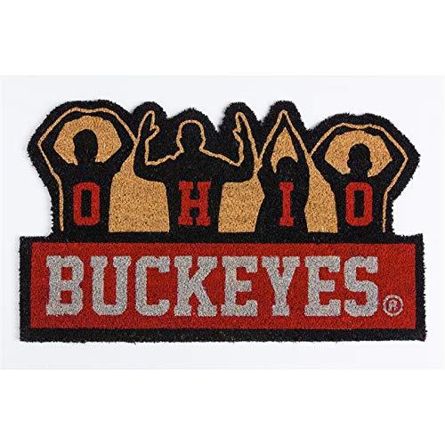 Team Sports America NCAA Ohio State University Buckeyes O-H-I-O Coir Mat
