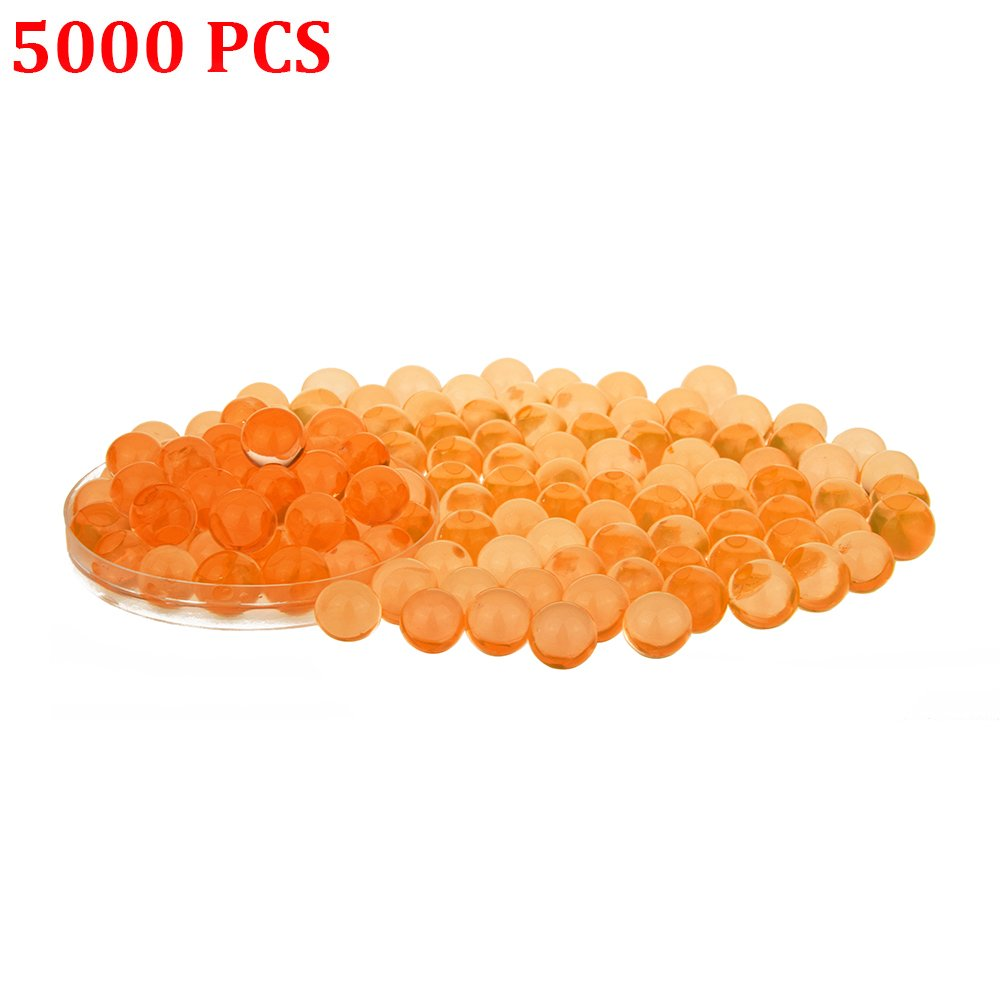 Candora 5000pcs Water Beads Crystals Mud Crystal Water Gel Beads Soil Beads Crystal Soil Plant Flower Jelly Crystal Soil Mud Water Pearls Gel Beads Balls for Kids Vases (Multicolor) 006