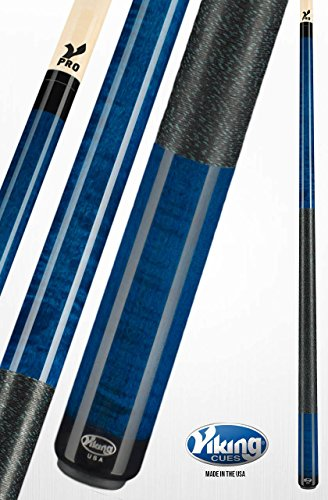 - Viking A250 Pool Cue Stick Ocean Blue Stain Curly Maple Quick Release Joint V Pro Shaft 18, 18.5, 19, 19.5, 20, 20.5, 21 oz. (20.5)