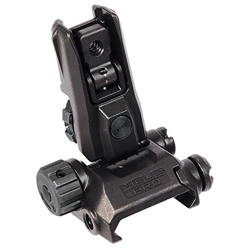 MAGPUL INDUSTRIES Mag527 Mbus Pro Lr Adjustable Rear Sight,Black by MAGPUL INDUSTRIES CORPORATION