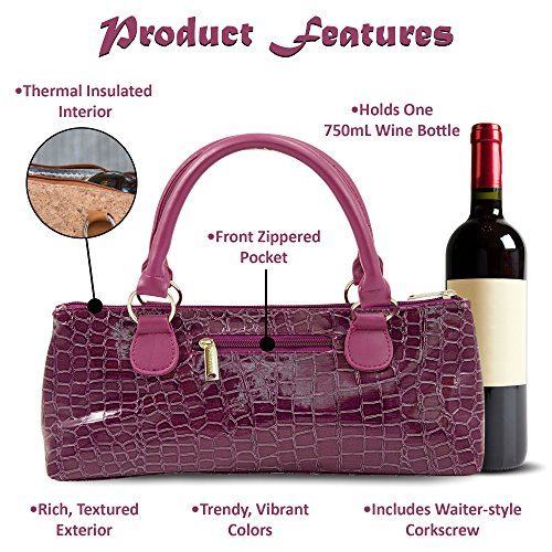 thermal Women Trendy Wine Insulated Bag Clutch Primeware 7PwtqHSzn