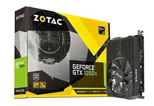 ZOTAC GeForce GTX 1050 Ti Mini 4GB GDDR5 DisplayPort 128b (Large Image)