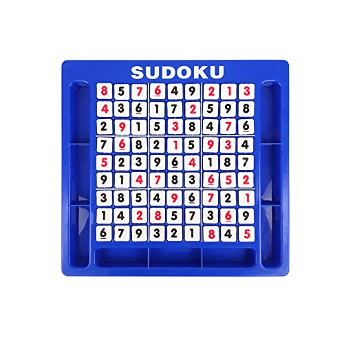 - Livoty Sudoku Cube Number Table Game Toys Brain Digital Puzzle Montessori Toys for Kids Education Toy (Multicolor)