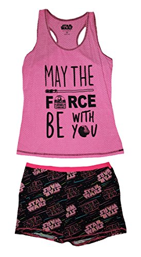 Star Wars May The Force Be With You Shortie Set - X-Large