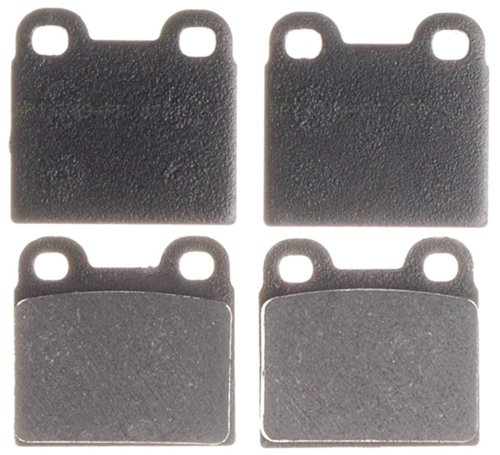 - ACDelco 17D21 Professional Organic Front Disc Brake Pad Set