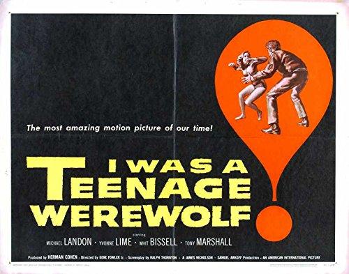 Reproducción de un póster de presentación - I was Teenage de ...