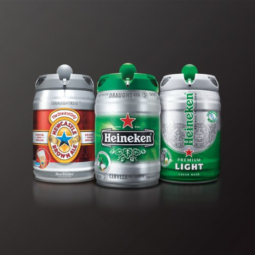 Krups And Heineken B100 Beertender With Heineken Draught
