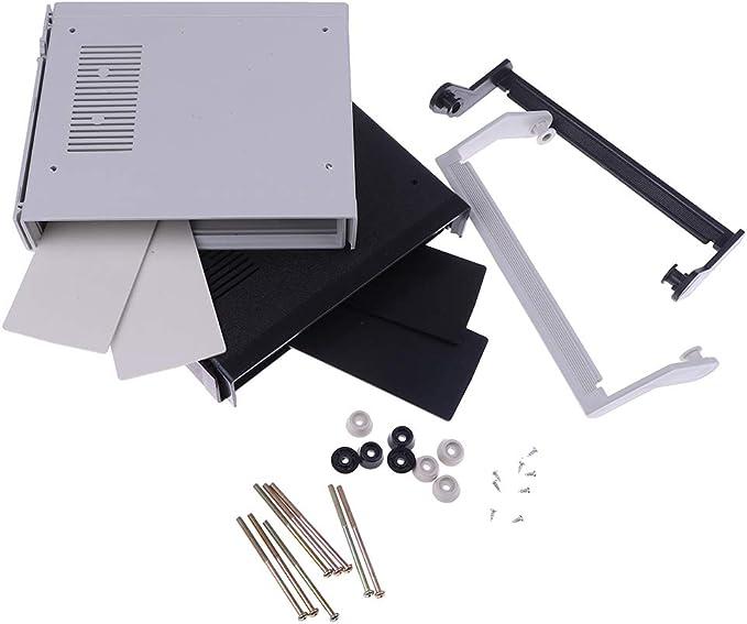 1pc waterproof plastic electronic enclosure project box black 200x175x70mm /_F