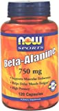 NOW Foods Beta-Alanine 750mg, 120 Capsules, Health Care Stuffs