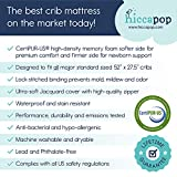 hiccapop Baby Crib Mattress [Dual Sided] w/Firm