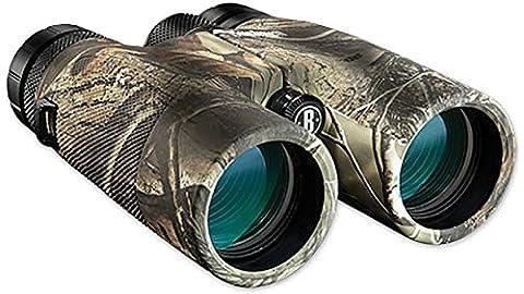 Bushnell PowerView 10x 42mm Roof Prism Binocular (Realtree AP Camo) (Self Focusing Binoculars)