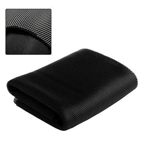 Black Speaker Grill Cloth Stereo Mesh Fabric For Speaker Repair - - Cabinet Cloth Speaker Grill