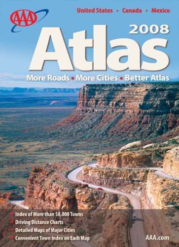 AAA Road Atlas 2008 -